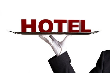 First Class Hotel Stock Photo