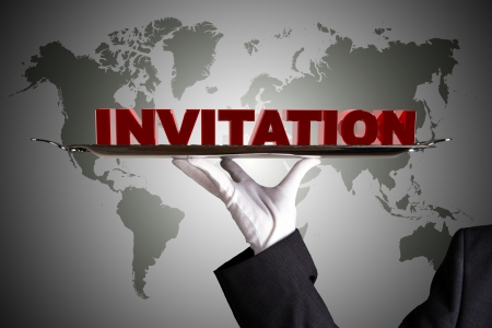personally: First Class Invitation