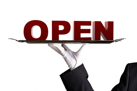opening hours: Open Business