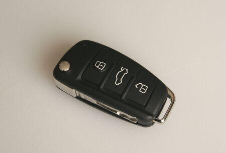 Retracted car key