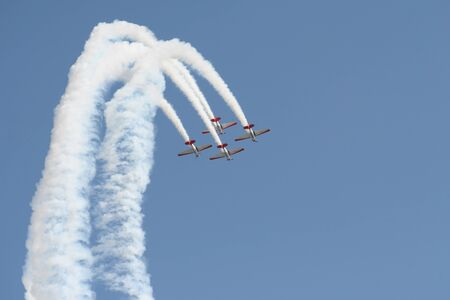 Flying high at air show
