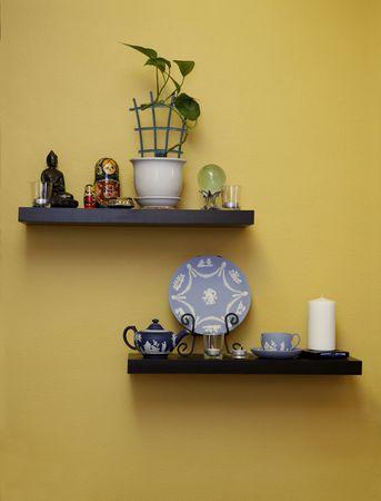 decoration: Shelves