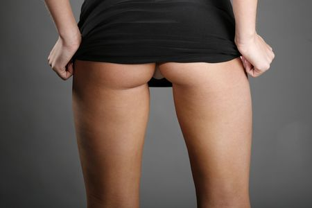 fesses black: Backside vue