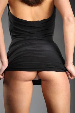back  ass: Sexy dress
