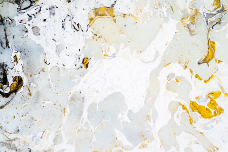 Bright marble background texture with gold, black, grey and white