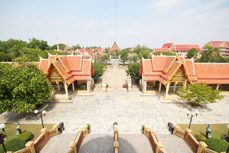 singburi: Pikul Thong temple, Singburi Thailand Stock Photo