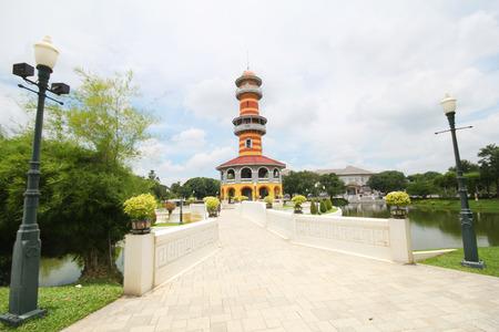 bang pa in: Bang pa in palace, Ayutthaya Thailand Editorial