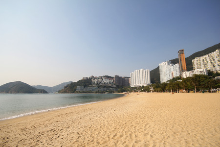 repulse: Repulse Bay beach in Hong Kong