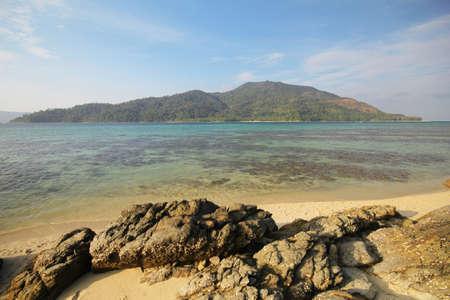 prov�ncia: Lipe ilha prov�ncia de Koh Lipe Satun Tail�ndia Banco de Imagens