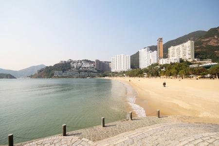 repulse: Repulse Bay beach in Hong Kong