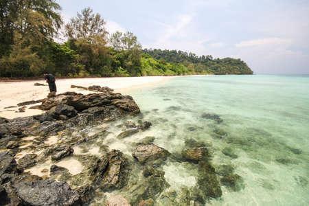 prov�ncia: Rok island, Koh Rok, Trang province Thailand Banco de Imagens