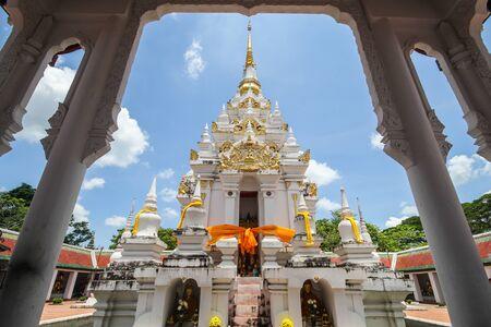Phra Borom That Chaiya, Surat Thani, Thailand Stock Photo