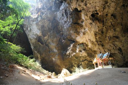 view to outside: Phraya Nakhon cave, Khao, Sam Roi Yod National Park, Prachuap Khiri Khan Thailand