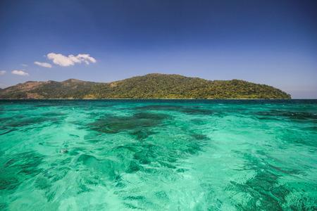 province: Yang island, Koh Yang, Satun province Thailand Stock Photo