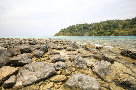 province: Rok island, Koh Rok, Trang province Thailand Stock Photo