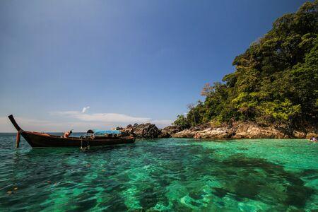 province: Yang island, Koh Yang, Satun province Thailand Editorial