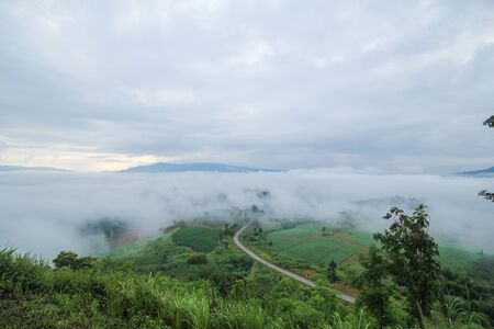 view to outside: Khao Kho, Phetchabun, Thailand