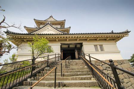 odawara: Landmark of Odawara city, Odawara Castle, Kanagawa Prefecture, Japan.