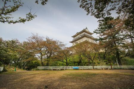 odawara: Landmark of Odawara city, Odawara Castle, Kanagawa Prefecture, Japan