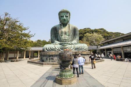 kamakura: The big Buddha, Daibutsu, in Kamakura, Japan
