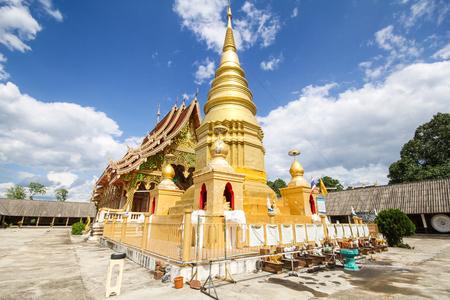 Wat Phra That Duang Deaw, Lamphun Thailand Stock Photo
