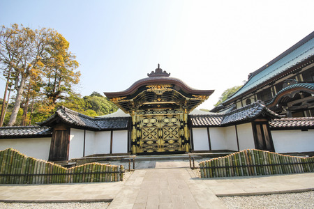 Kenchoji temple, The famous temple in the city of Kamakura, Japan