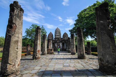 Sukhothai Historical Park, Sukhothai Thailand Stock Photo