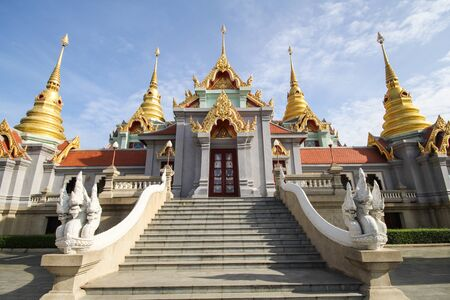 Phra Mahathat chedi Pakdee Prakard, Prachuap Khiri Khan, Thailand