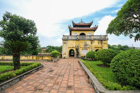 UNESCO World Heritage Site, Imperial Citadel of Thang Long in Hanoi, Vietnam Stock Photo