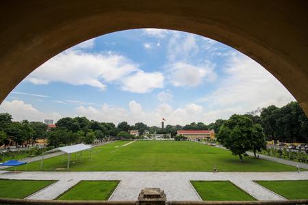 UNESCO World Heritage Site, Imperial Citadel of Thang Long in Hanoi, Vietnam Editorial