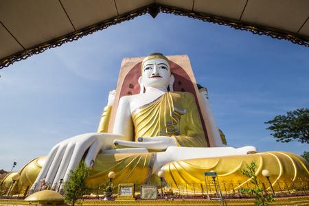 Four Faces of Buddha at Kyaikpun Buddha, Bago, Myanmar