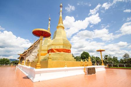 Phra maha chin thar jao montol sala temple, Lamphun Thailand