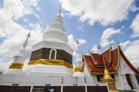 Phra Jedi Sriwichai Jom Kiri Temple, Lamphun Thailand