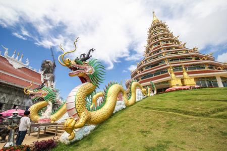 Huay Pla Kang temple, Chiang Rai Thailand
