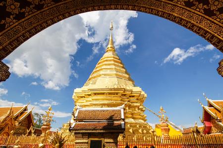Wat Phra That Doi Suthep, Chiang Mai, Thailand Stock Photo - 95886288