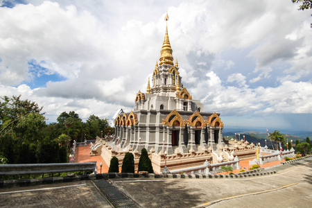 Phra Boromathat Chedi, Doi MaeSalong, Chiangrai, Thailand