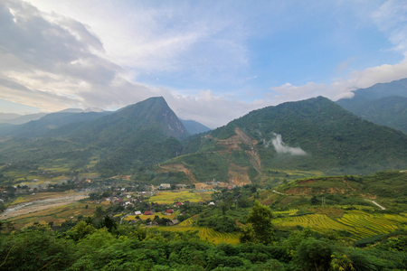Ban Ho Village, Sapa District, Lao Cai Province, Northwest Vietnam