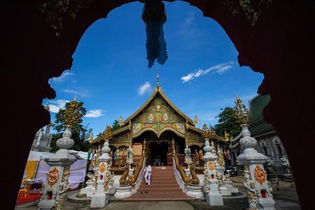 Beautiful temple at Chiang Rai, Thailand