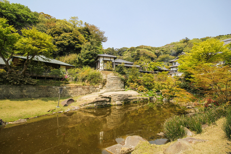 Engakuji temple, The famous temple in the city of Kamakura, Japan