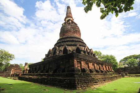 Kamphaeng Phet Historical Park, Kamphaeng Phet, Thailand 免版税图像