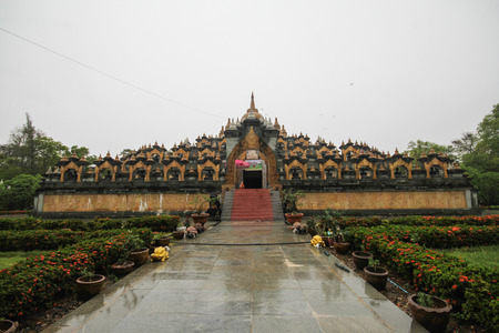 Wat Pa Kung, Roi Et, Thailand 에디토리얼