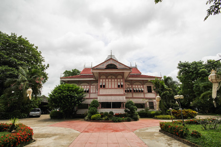 Ban Wongburi Historical House In Phrae Thailand Editorial