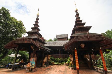 Wat Chom Sawan, Phrae, Thailand 版權商用圖片