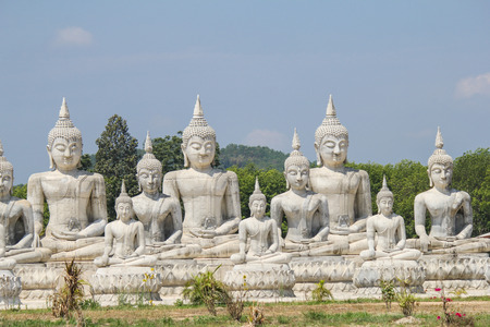 Buddha statue park in Nakhon Si Thammarat, Thailand