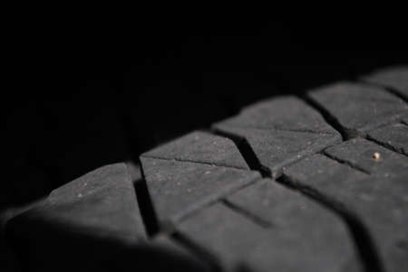 treads: The treads of a tire are truly beautiful.