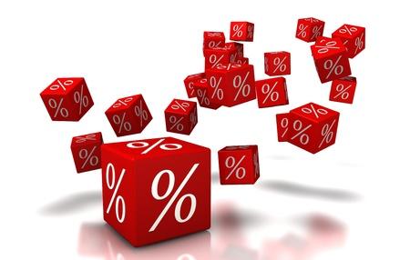 d'actualisation, cube, arri�re-plan, boutique, pour cent, argent, argent Banque d'images