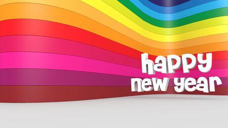 heureux, nouveau, ann�e, vacances, chrismas, Banque d'images