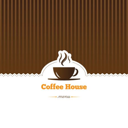 coffee, menu Vector