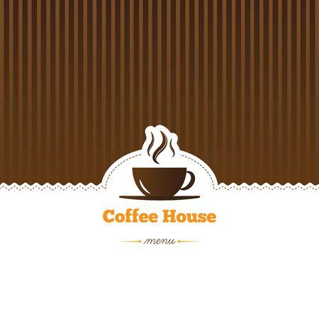 le caf�, le menu