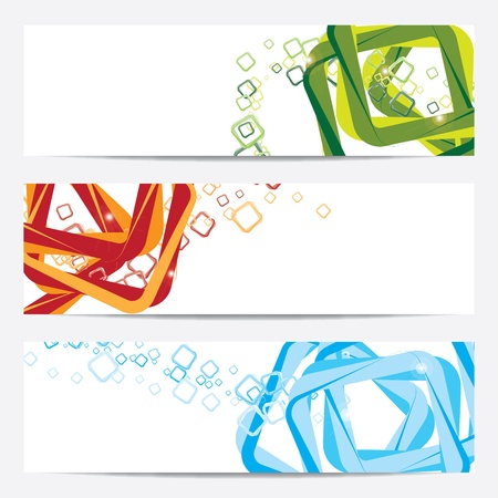 vertical banner: banner, template, background Illustration